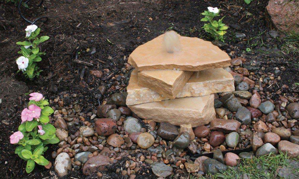 Outdoor Rock Fountains