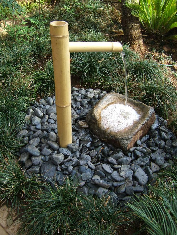 Outdoor Rock Water Fountain