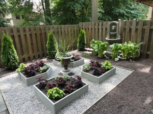 Outdoor Water Fountains Landscaping