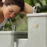 Outside Water Fountains for Schools