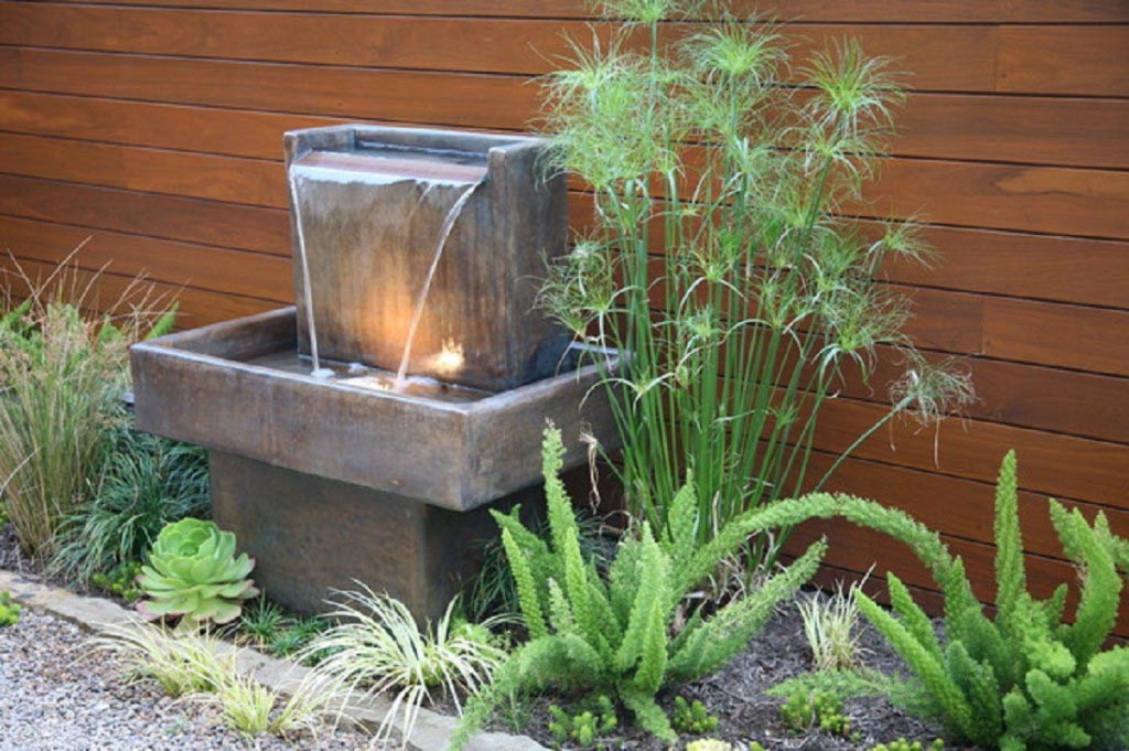 Patio Fountains and Waterfalls
