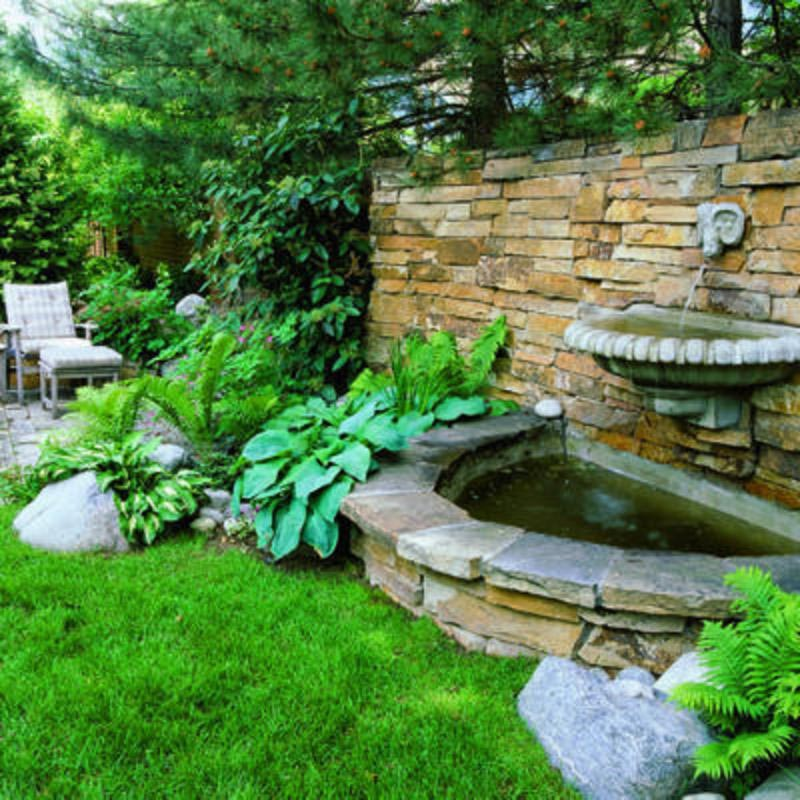 Patio Fountains Ideas