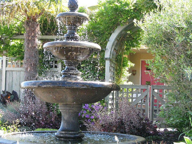 Patio Water Fountain Ideas