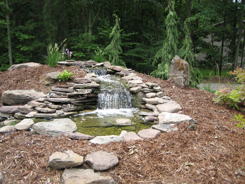 Pictures of Backyard Water Features