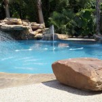 Pool Cooling Fountain