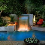 Pool Fountain Light