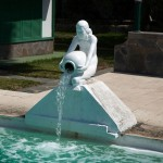 Pool Fountain Statues