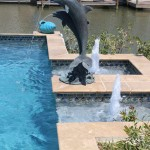 Pool Fountains Statues