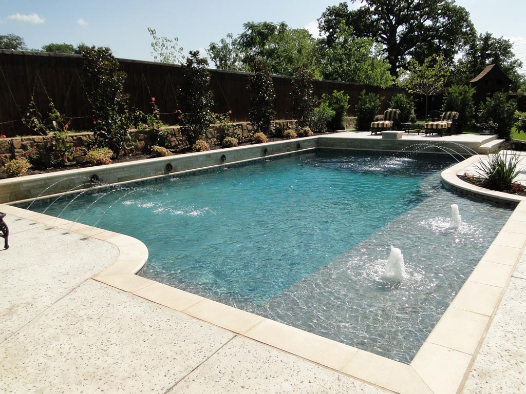 Pool fountains water features fountain design ideas for Water pool design