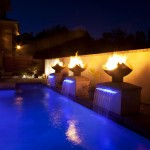 Pool Light Fountain