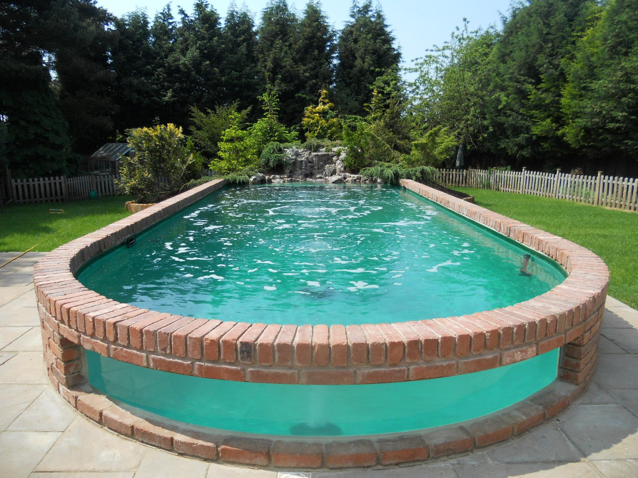 Pool Waterfall Fountain
