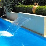 Pool with Fountain