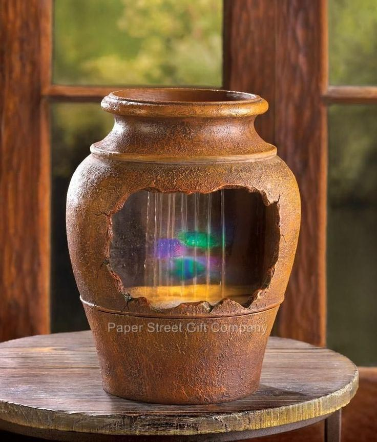 Pots LED Lights Water Fountain