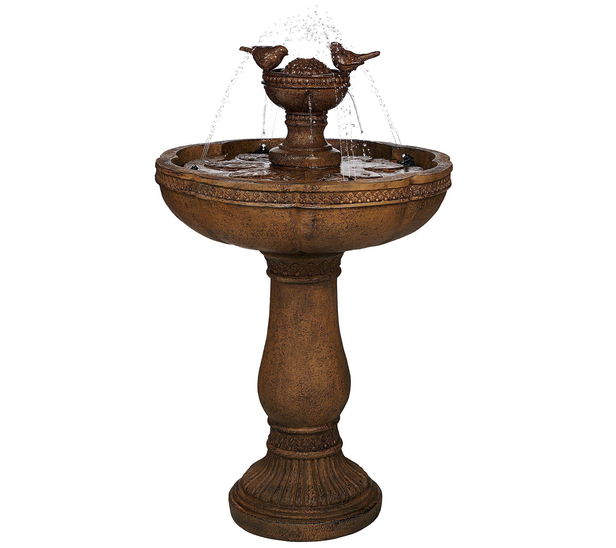QVC Solar Water Fountains