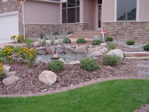 Rock Fountain DIY