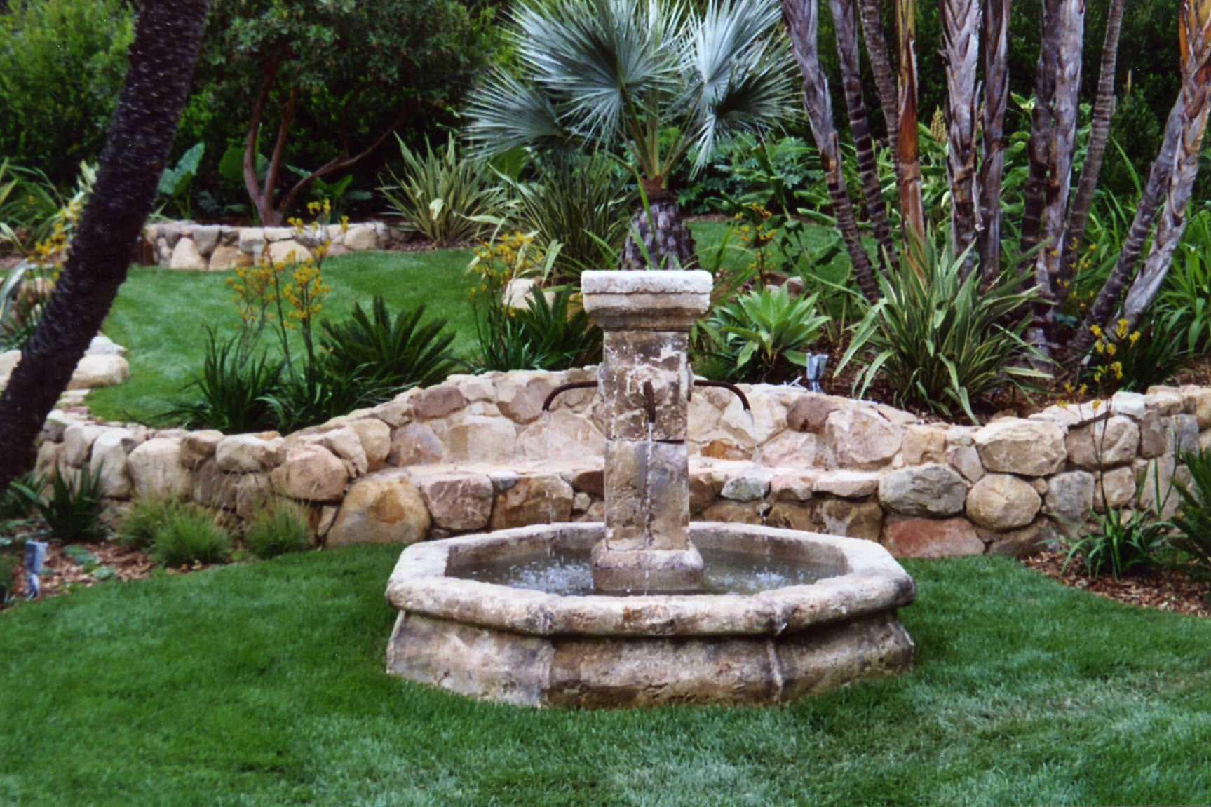 Rock Fountain Ideas