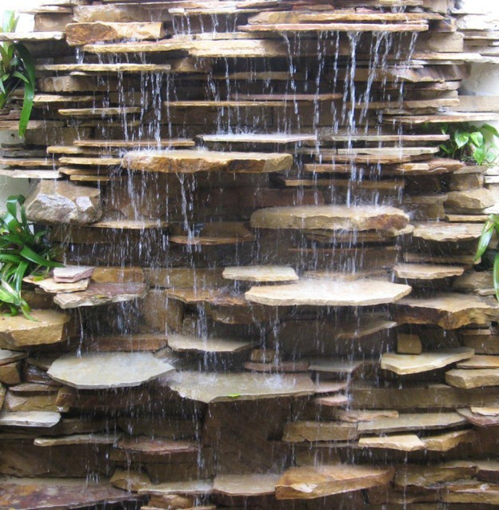 Rock Fountain Outdoor