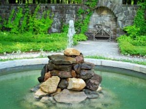 Rock Fountains for Garden