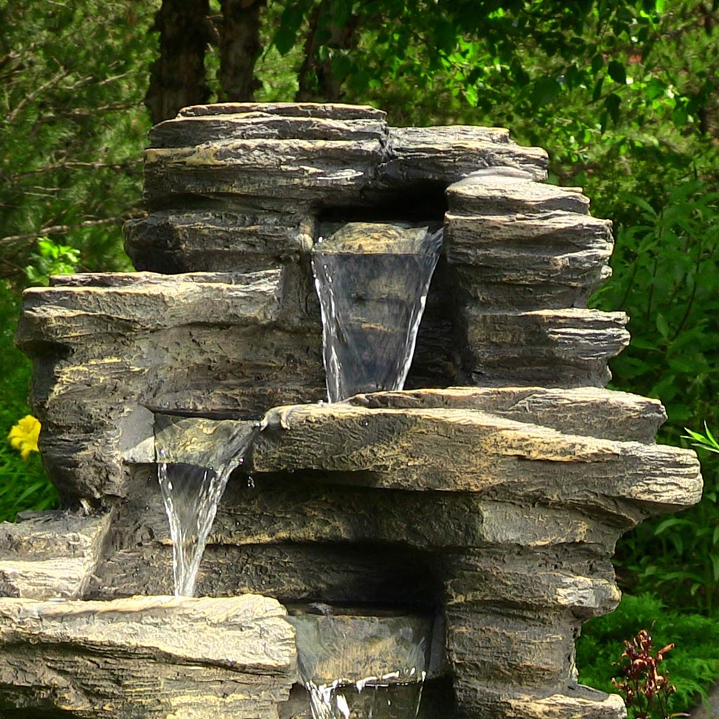 Rock Waterfall Fountains