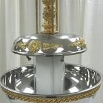Silver Champagne Fountain