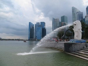 Singapore Fountain Lion