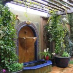Small Backyard Fountains
