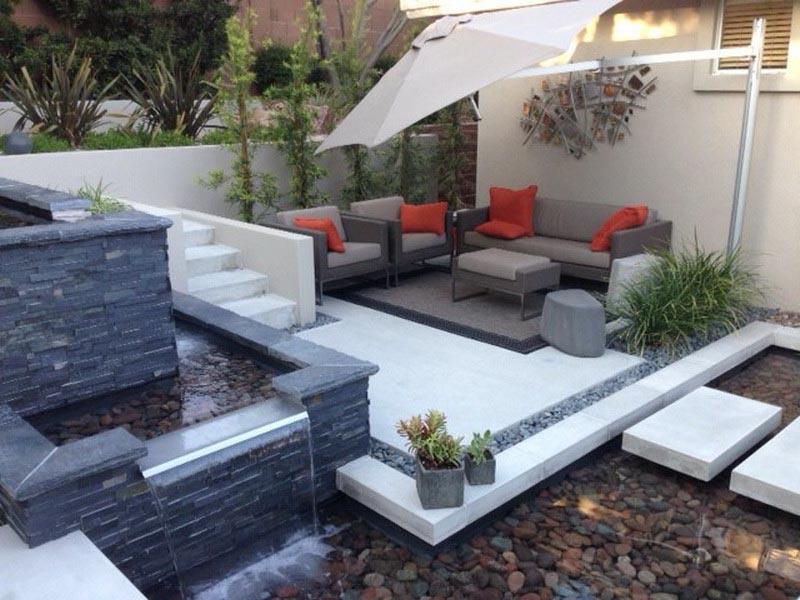 Small Backyard Water Feature Ideas