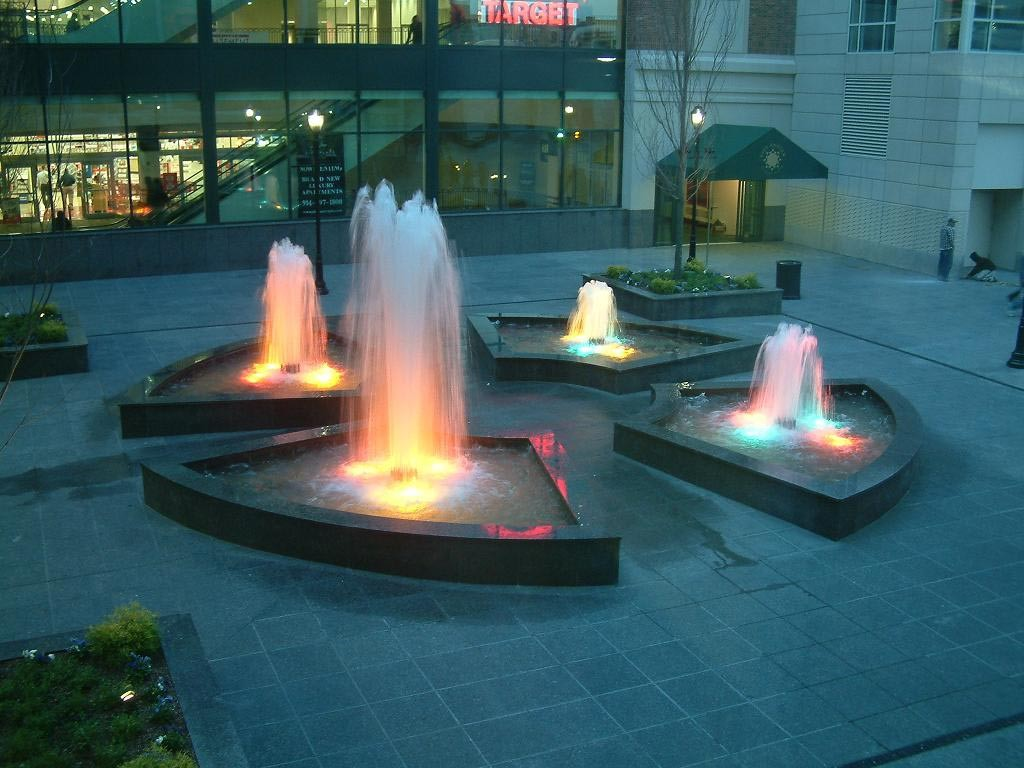 Small Fountain Lights