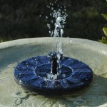 Small Solar Fountain