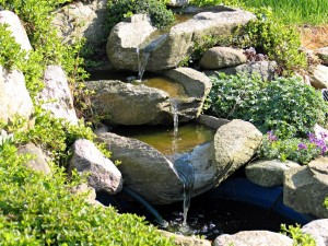 Small Stone Fountain