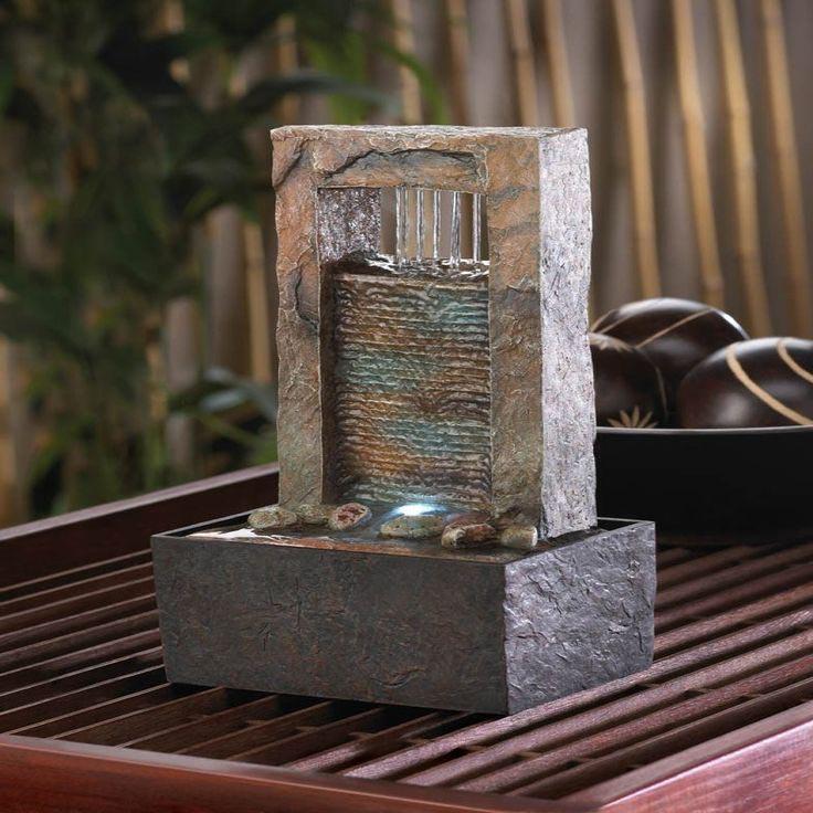 Small water fountain indoor fountain design ideas for Indoor fountain design ideas