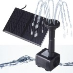 Small Water Fountain Pump