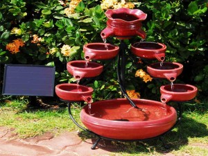 Small Water Fountains for Gardens
