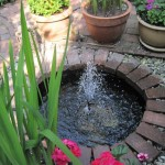 Small Water Fountains for Patios