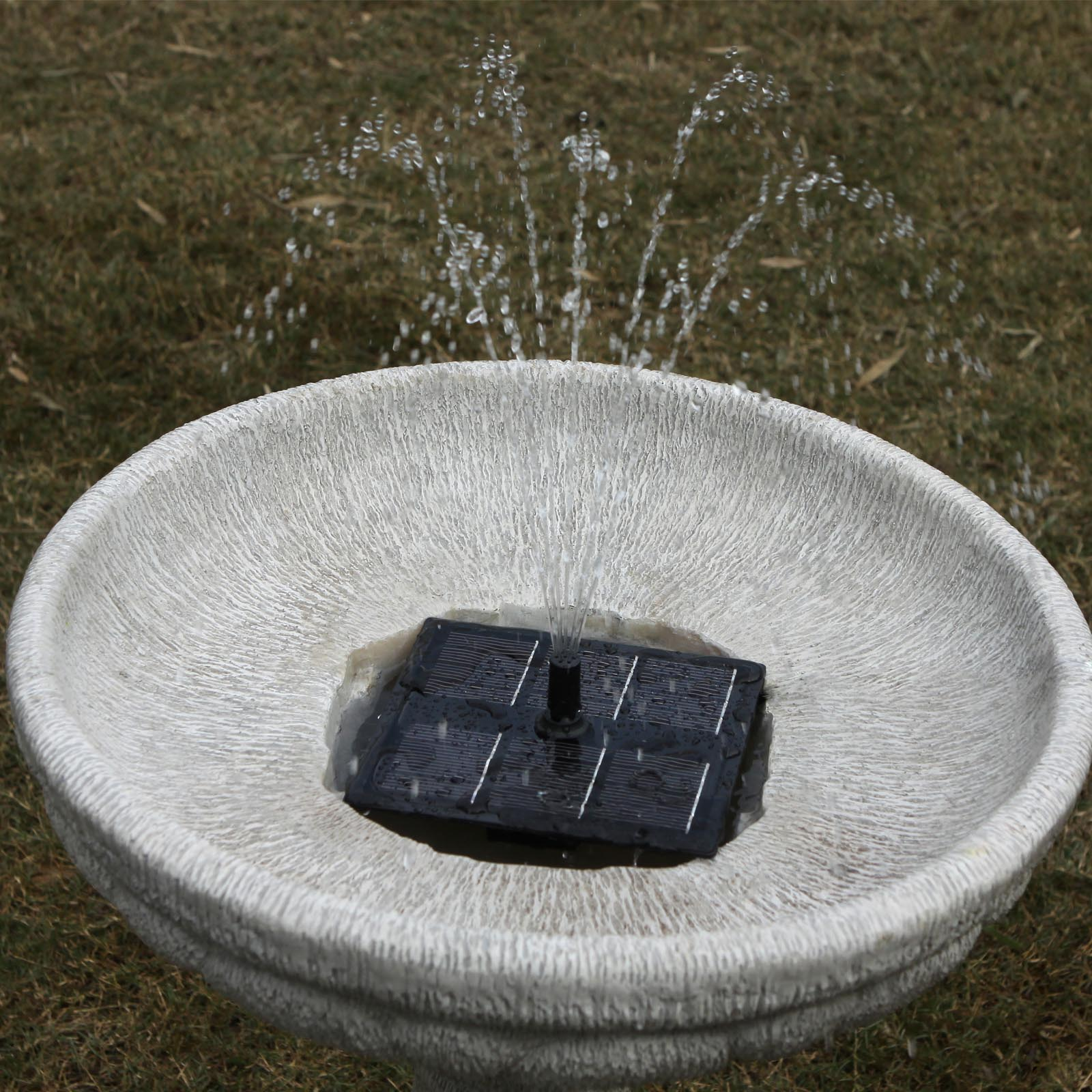 Solar Bird Bath Fountain Kit