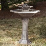 Solar Bird Baths and Fountains