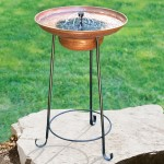 Solar Fountain Bird Bath