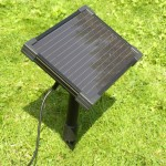 Solar Fountain for Pond
