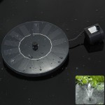 Solar Fountain Lights
