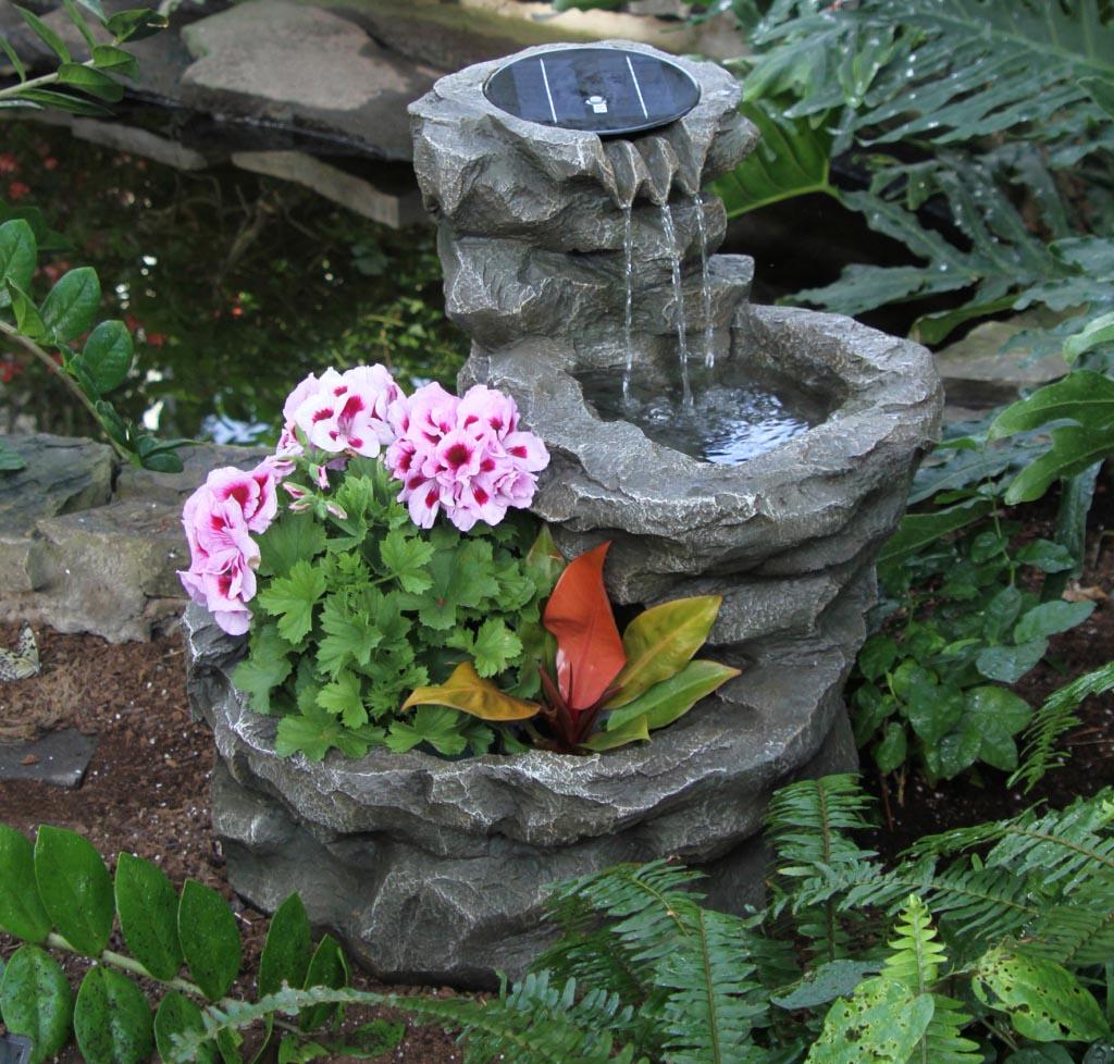 Solar Fountains for the Garden