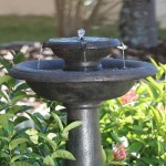 Solar Patio Fountains