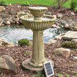 Solar Patio Water Fountains