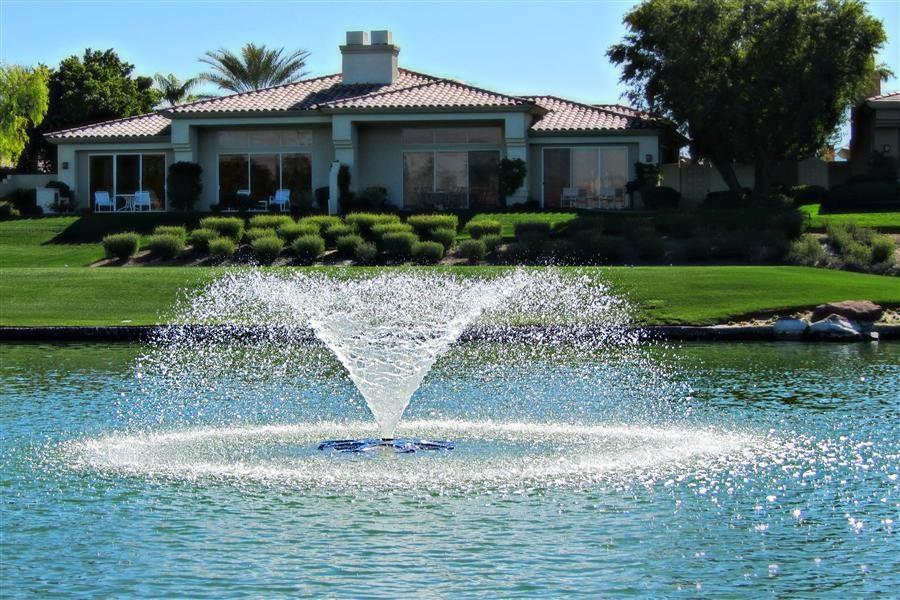 Solar Pond Fountain