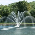 Solar Pond Fountains