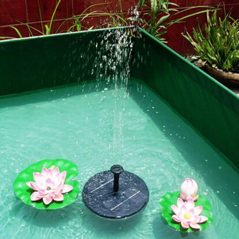 Solar Pool Fountain Floating