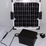 Solar Powered Fountain Pump with Battery
