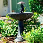 Solar Powered Patio Fountains