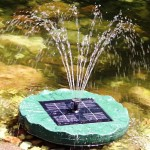 Solar Powered Pond Fountain