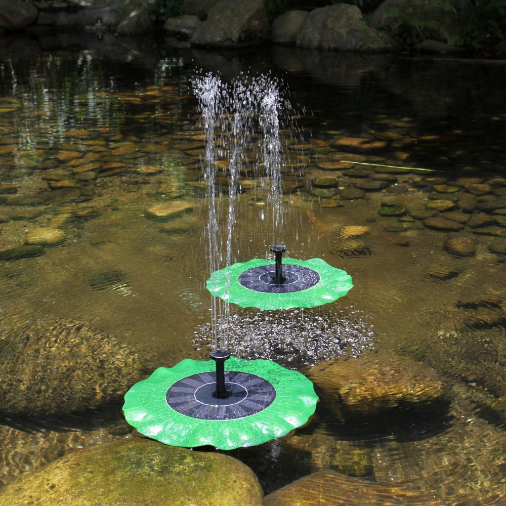 Solar Powered Pond Fountains