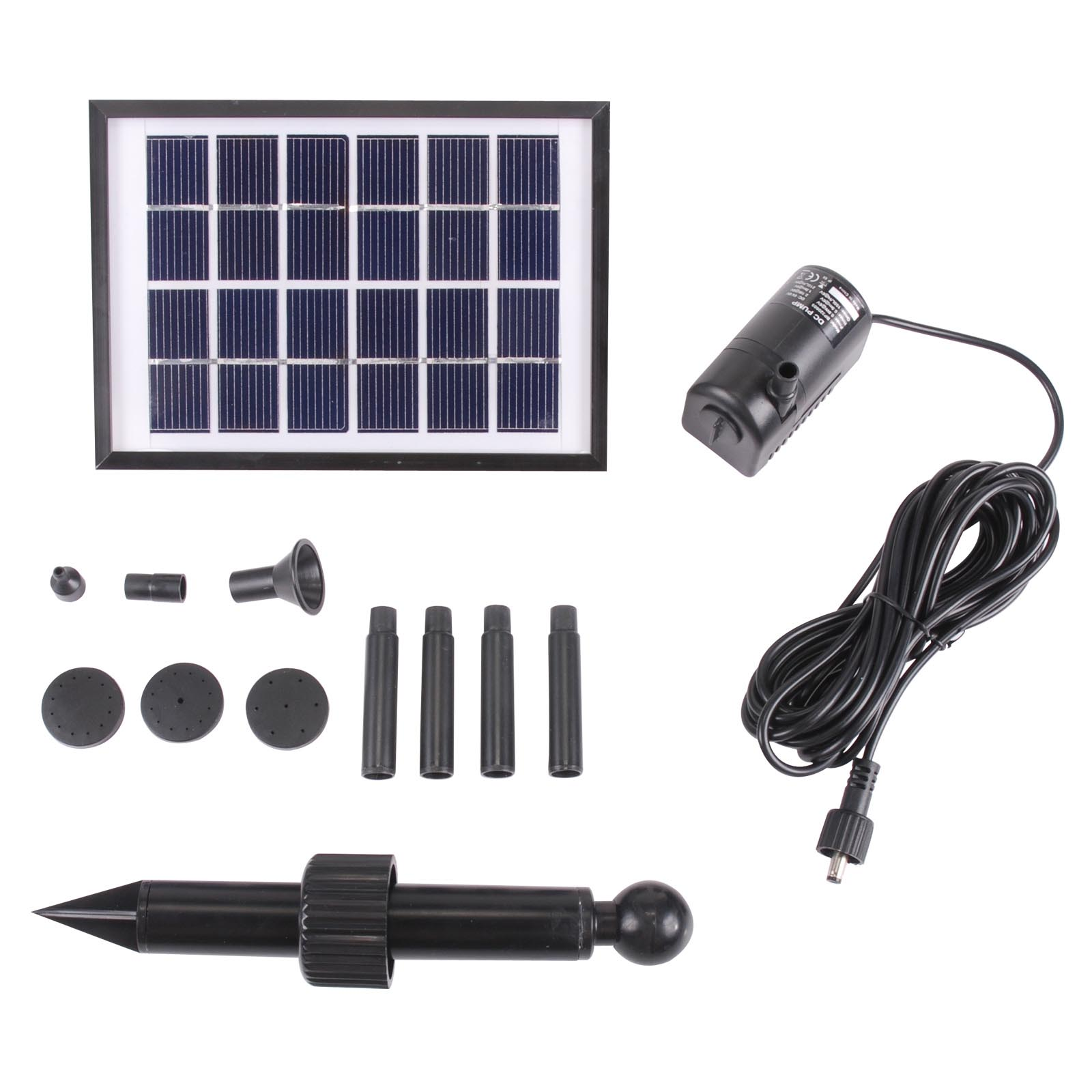 Solar Water Fountain Pump Kit